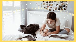 my after school night routine // amanda rose
