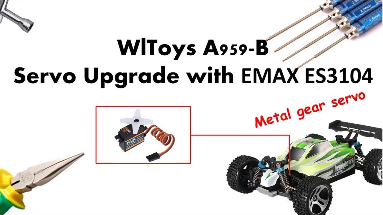 3x Kunststoff Hauptantrieb Untersetzungsgetriebe A959 B 19 für 1//18 Wltoys