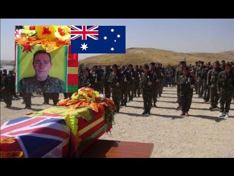 THE body of  Australian YPG Fighter Jamie bright  is on the way home