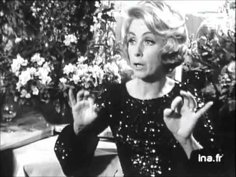 Danielle Darrieux en répétitions 1968
