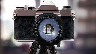 вынуть плёнку из фотоаппарата Зенит 122. Зенит ЕТ. 4 Выпуск. Учимся работать с фотоплёнкой