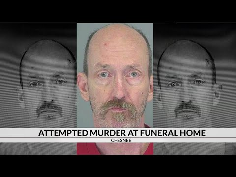 Man faces attempted murder charge after shooting at Chesnee funeral home