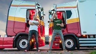 Lossen in het zonnige zuiden en met de Scania overnachten in Kesteren!