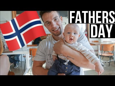 Our First Family Celebration|Norwegian Father`s day