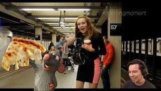 PIZZA RAT PRANK REACTION NYC | BIGGEST RAT COMES BACK FOR ANOTHER SLICE