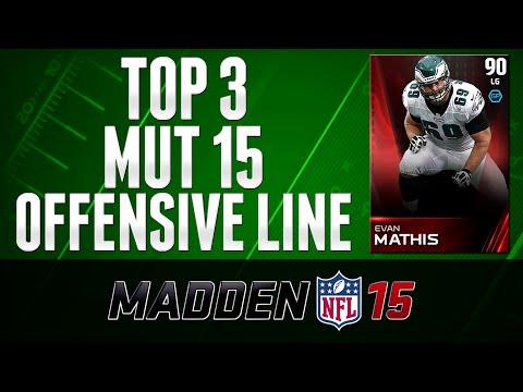 MUT 15 - Top Offensive Lineman ELITE EVAN MATHIS - Madden 15 Ultimate Team