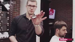 Урок #1. Сергей Рудницкий. Мужская стрижка машинкой с насадками