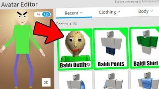 MAKING BALDI'S BASICS A ROBLOX ACCOUNT! (DO NOT ATTEMPT)