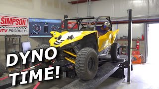 Turbo YXZ and X3 run our new DYNO! Plus dyno TESTING MODS FOR POWER!