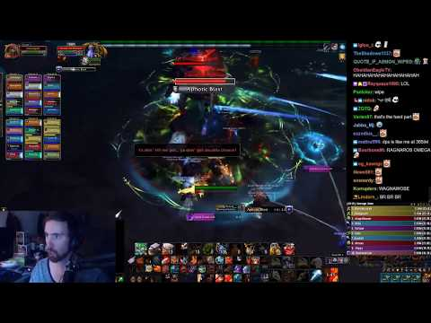 Asmongold's First Crucible of Storms Raid on Heroic Difficulty