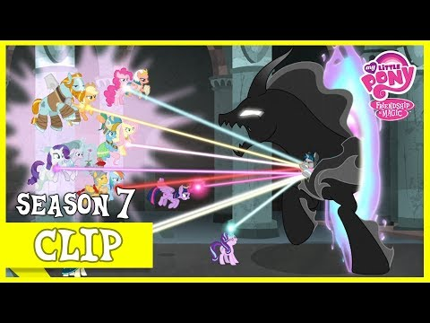 """MLP: FiM – The Pillars And The Mane 6 Free Stygian From The Darkness """"Shadow Play"""" [HD]"""