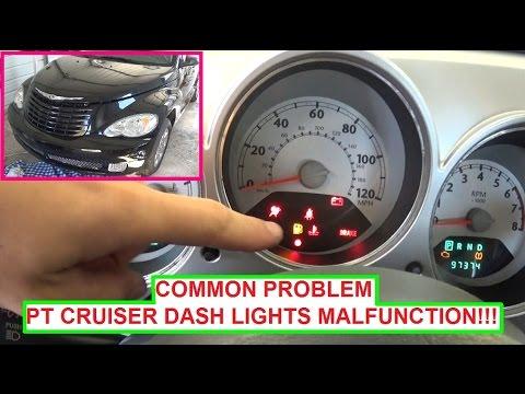 2007 chrysler sebring ac wiring diagram for fender stratocaster 5 way switch pt cruiser dash lights instrument cluster on off blinking common problem