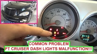 chrysler pt cruiser dash lights instrument cluster lights. Black Bedroom Furniture Sets. Home Design Ideas