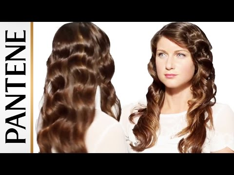 Wavy Hairstyles: Pin Up Hair Tutorial | Pantene