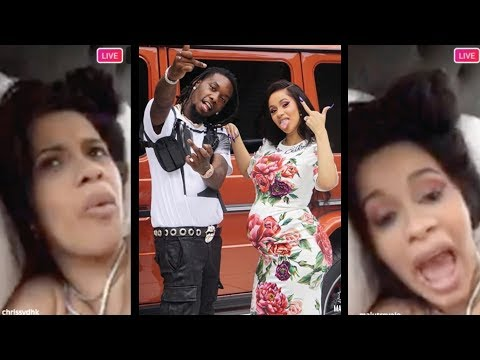Cardi B GOES OFF! On All The Haters Of Her Success On IG LIVE! (2018)