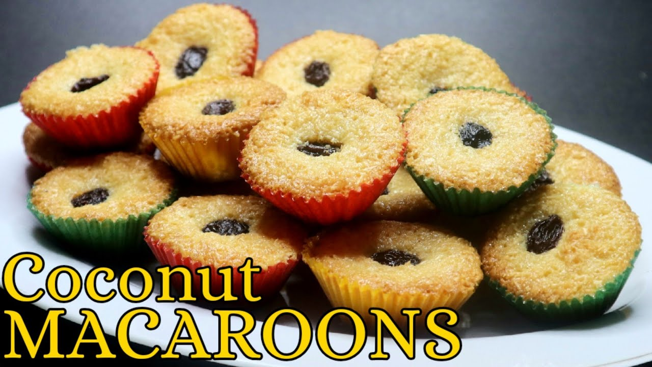 Coconut Macaroons Desiccated Coconut Dessert Panlasang Pinoy Recipe Youtube