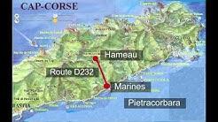 Sur les routes de la Haute-Corse, 1ère partie