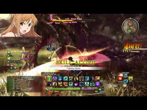 Sword Art Online: Hollow Realization Weapon Type Gameplay