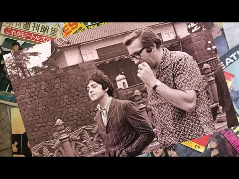 ♫ Paul McCartney and Mal Evans photos in Tokyo 1966