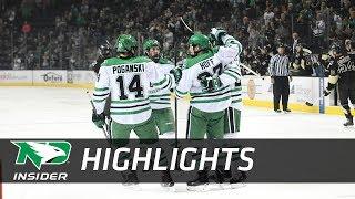 UND Hockey - Highlights: UND vs. Manitoba - 9/30/17