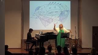 Sara Sae cantando Boabdil y Aixa   سارة ساءي في مدريد