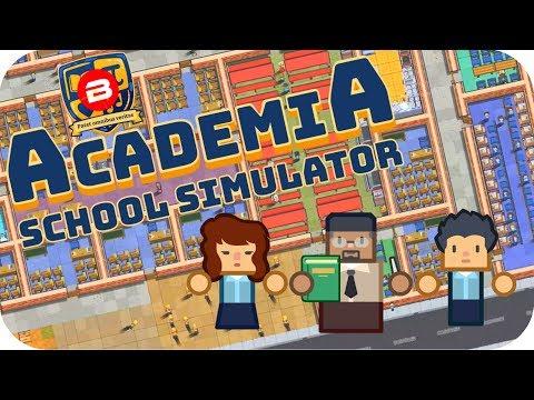 Academia - PRISON ARCHITECT FOR SCHOOLS?!? - Academia School Simulator Gameplay #1
