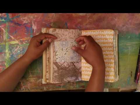 Journal Flip || More Handsewn Journals ((SOLD))