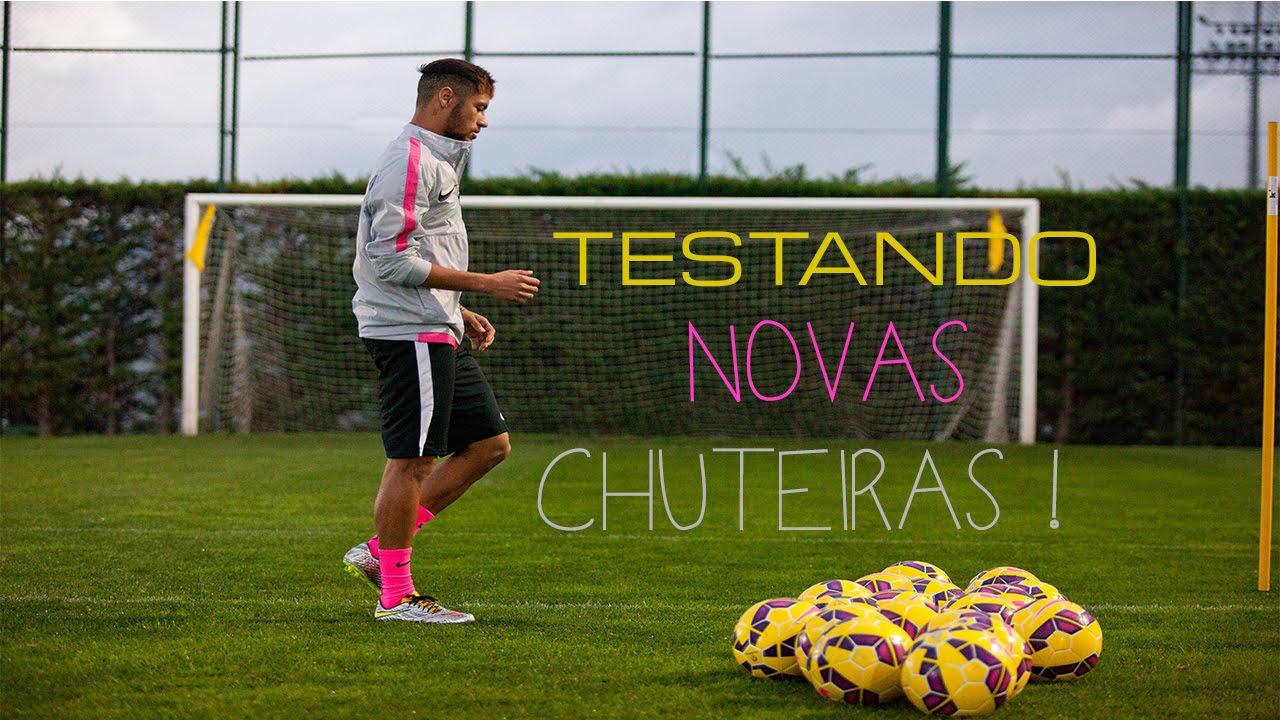 3d02e69f39 Neymar Júnior - TESTANDO NOVA CHUTEIRA