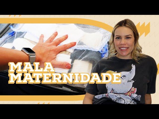 MALA MATERNIDADE DA MAMÃE E DO BEBÊ | MATERNIDADE | Go Deb