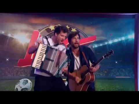 WM-Hymne 2018 - FIFA Fußball-Weltmeisterschaft in Moskau - Luke Mockridge Max Giesinger - WM-Song