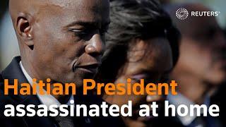 Haiti: President Jovenel Moiset shot dead at home overnight
