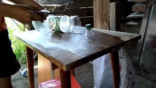 Юрта из пластиковых бутылок
