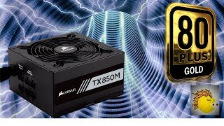 corsair tx850m modular power supply 80 plus gold certified unboxing first impressions