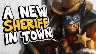 THERE IS A NEW SHERIFF IN TOWN! | The Boomsday Project | Hearthstone Arena