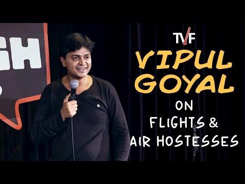 Vipul Goyal on Flights and Air Hostesses    Watch Humorously Yours Full Season on TVFPlay