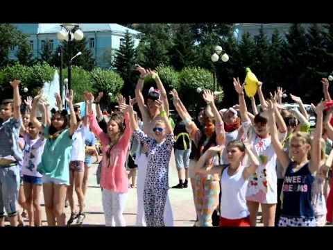 Комсомольск-на-Амуре 17.07.2013 Пижамный флешмоб