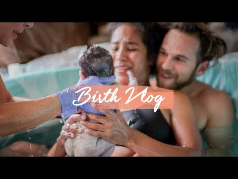 Emotional Home Water Birth Vlog (it was amazing!)