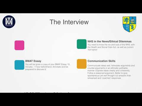 Medicine Interview | University College London (UCL)