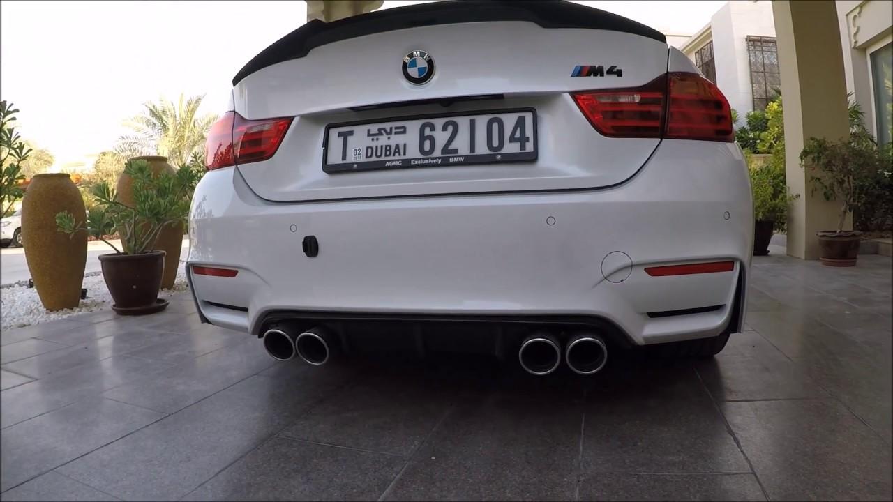 bmw m4 new exhaust ac schnitzer