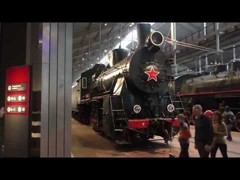 Музей железных дорог России. Санкт-Петербург 4 ноября 2017 года