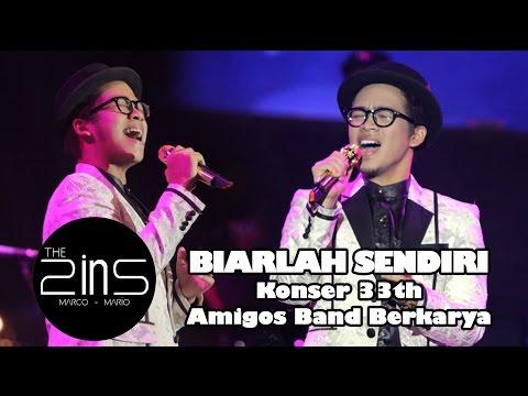 Konser 33th Amigos Band Berkarya - The 2ins - Biarlah Sendiri