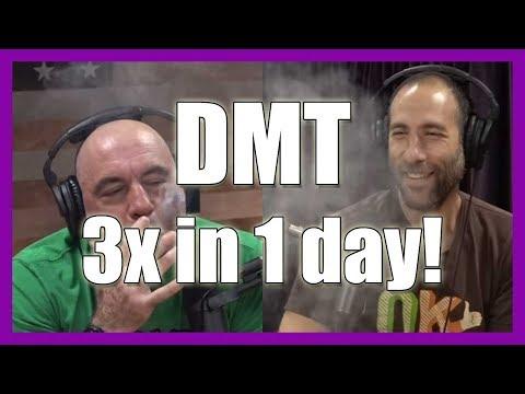Joe Rogan Smoked DMT 3x In 1 Day!     PowerfulJRE