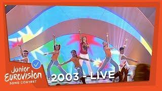 Sarah Harrison - Like A Star - Malta - 2003 Junior Eurovision Song Contest