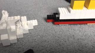 Lego R.M.S TITANIC SInking