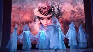 """Танец """"Зимние узоры"""" в исполнении Народного хореографического ансамбля """"Грация"""""""