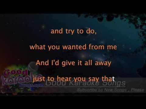 The Wire -  Haim (Lyrics Karaoke) [ goodkaraokesongs.com ]