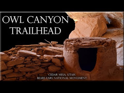 Owl Canyon Trailhead, Cedar Mesa, Utah. Bears Ears National Monument