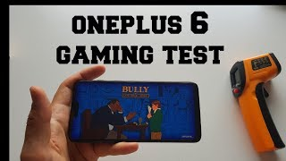 OnePlus 6 Gaming test after updates! Android games/Snapdragon 845/Adreno 630 heating test