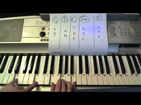 Be Still- Piano Lesson - The Fray (Todd Downing)