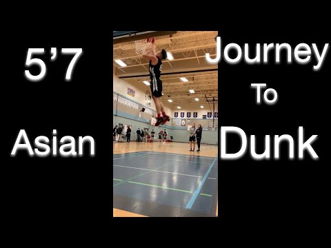 5'7 Asian Man's Journey to Dunking